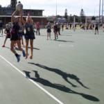 Peninsula netball jump