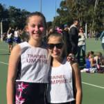 Peninsula netball umpire trainee